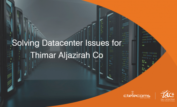 Solving Datacenter Issues for Thimar Aljazirah ...