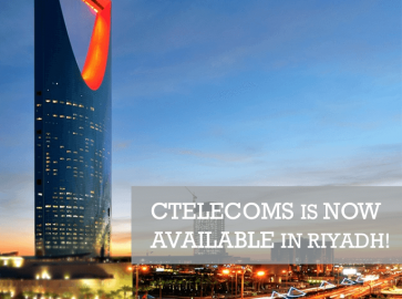 Ctelecoms gains more availability in Riyadh
