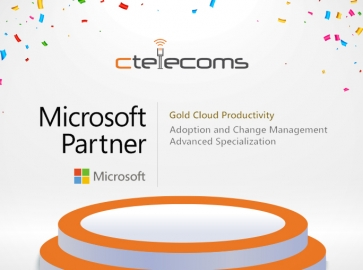 Ctelecoms Earns Microsoft Adoption and Change Management Advanced Specialization