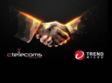 Ctelecoms Announces Partnership With Trend Micro