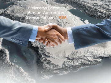 Ctelecoms Becomes Veeam Accredited Service Partner in KSA!