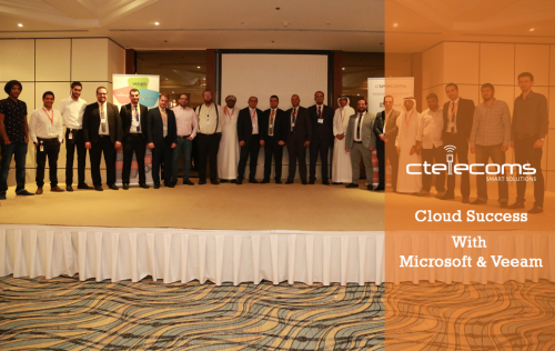 Cloud Success with Microsoft & Veeam event!