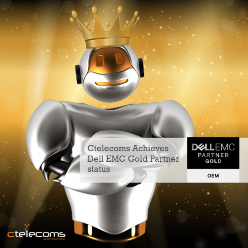 Ctelecoms Achieves Dell EMC Gold Partner status